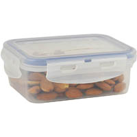 ITALPLAST AIR LOCK FOOD CONTAINER 350ML CLEAR