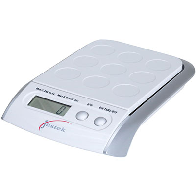 Image for JASTEK ELECTRONIC SCALE 2KG CAPACITY 1G INCREMENTS from Pirie Office National