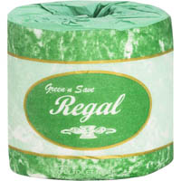 REGAL GREEN-N-SAVE 2 PLY TOILET TISSUE 400 SHEETS ROLL