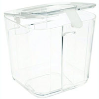 DEFLECTO CONTAINER FOR STORAGE CADDY ORGANIZER SMALL