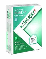 KASPERSKY PURE TOTAL SECURITY 1 PC 1 YEAR LICENSE