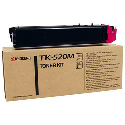 Image for KYOCERA TK520M TONER CARTRIDGE MAGENTA from Pirie Office National