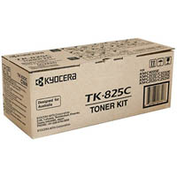 KYOCERA TK825C TONER CARTRIDGE CYAN