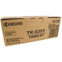 KYOCERA TK825Y TONER CARTRIDGE YELLOW
