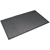 MATTEK SAFETY CUSHION MAT 600 X 900MM BLACK