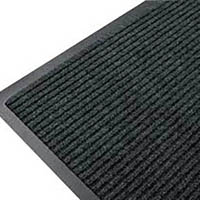 MATTEK RIBBED ENTRANCE MAT 600 X 900MM PEPPER