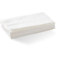 BIOPAK BIODISPENSER SINGLE SAVER NAPKIN 1 PLY WHITE PACK 500