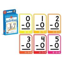 LEARNING CAN BE FUN FLASHCARDS SUBTRACTION 0-15