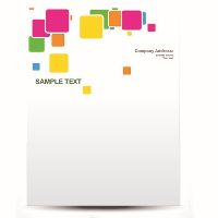 CUSTOM LH100-1000 PRINT LETTERHEAD 100GSM (210 X 297MM) FULL COLOUR PRINT ONE SIDE