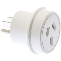 MOKI AU / NZ TRAVEL ADAPTOR FOR USA WHITE
