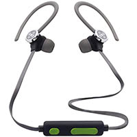 MOKI EXO ACTIVE BLUETOOTH EARPHONES BLACK