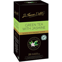SIR THOMAS LIPTON TEABAGS GREEN JASMINE PACK 25