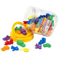 LEARNING CAN BE FUN TRANSPORT COUNTER PACK ASSORTED TUB 72
