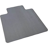 RAPIDLINE CHAIRMAT FOR HARD FLOOR SURFACES SMALL 915 X 1200MM CLEAR