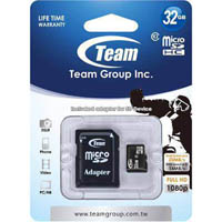 TEAM GROUP MEMORY CARD MICRO SDHC 32GB CLASS 10