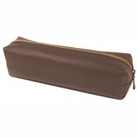 MODENA TUBE PENCIL CASE BROWN