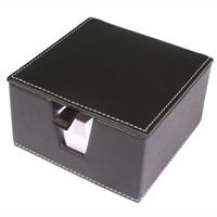 MODENA MEMO BOX TEXTURED PU BLACK
