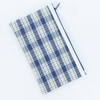 MICADOR TARTAN PENCIL CASE SINGLE ZIP 130 X 215MM