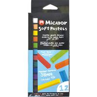 MICADOR SOFT SQUARE PASTELS PACK 12