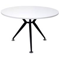 RAPID VIBE ROUND TABLE 1200MM WHITE/BLACK