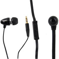 SHINTARO STEREO EARPHONE AND MICROPHONE FLAT CABLE