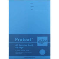 PROTEXT EXERCISE BOOK DOTTED THIRDS 24MM 70GSM 48 PAGE A4 FISH ASSORTED