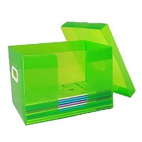 PROTEXT TEACHERS BOOK STORAGE BOX 335 X 245 X 245MM CLEAR