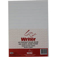 WRITER REAM DOTTED THIRDS 18MM PORTRAIT 500 SHEETS A4