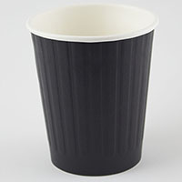 WRITER DUAL WALL PAPER CUP 8OZ BLACK BOX 500