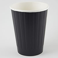 WRITER DUAL WALL PAPER CUP 12OZ BLACK BOX 500