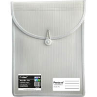 PROTEXT ATTACHE FILE CASE ELASTIC CLOSURE A4 WHITE