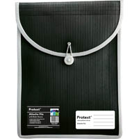 PROTEXT ATTACHE FILE CASE ELASTIC CLOSURE A4 BLACK