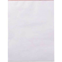 WRITER BANK PAD PLAIN 50GSM 100 SHEETS 150 X 100MM WHITE