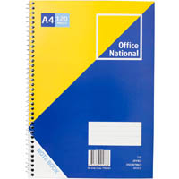 OFFICE NATIONAL PREMIUM NOTEBOOK SIDEBOUND 120 PAGE A4