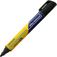 OFFICE NATIONAL PREMIUM WHITEBOARD MARKER BULLET BLACK