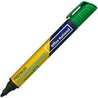 OFFICE NATIONAL PREMIUM WHITEBOARD MARKER BULLET GREEN