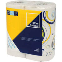 OFFICE NATIONAL KITCHEN TOWEL 2PLY 60 SHEETS TWIN PACK