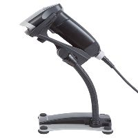 OPTICON OPR-3201 BARCODE SCANNER WITH USB CABLE AND STAND BLACK