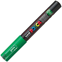 UNI PC-5M POSCA POSTER MARKER MEDIUM BULLET TIP 2.5MM GREEN