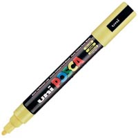 UNI PC-5M POSCA POSTER MARKER MEDIUM BULLET TIP 2.5MM YELLOW