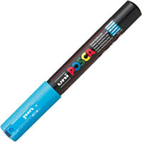 UNI PC-1M POSCA POSTER MARKER EXTRA FINE BULLET TIP 1MM LIGHT BLUE