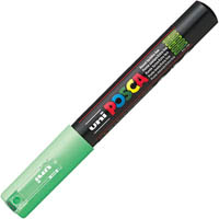 UNI PC-1M POSCA POSTER MARKER EXTRA FINE BULLET TIP 1MM LIGHT GREEN