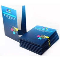 CUSTOM PRINT PRESENTATION FOLDER TWO SIDES CELLOGLAZED 310GSM (310 X 220MM) FULL COLOUR PRINT ONE SIDE