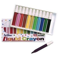 ARTLINE 300 LIQUID CRAYONS PACK 12