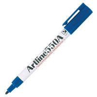 ARTLINE 550A WHITEBOARD MARKER 1.2MM BULLET BLUE