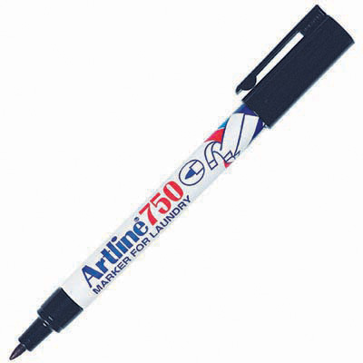 Image for ARTLINE 750 LAUNDRY MARKER 0.7MM BULLET BLACK from Office National Perth CBD