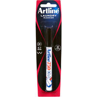ARTLINE 750 LAUNDRY MARKER 0.7MM BULLET BLACK HANGSELL