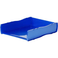 ESSELTE KALIDE DOCUMENT TRAY BLUE