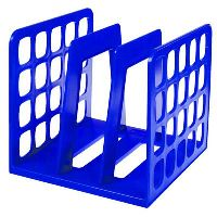 ESSELTE MOULDED INDUSTRY VERTICAL ORGANISER BOOK AND FILE BLUE