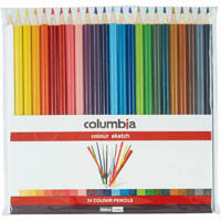 COLUMBIA COLORSKETCH FULL LENGTH PENCIL WALLET 24